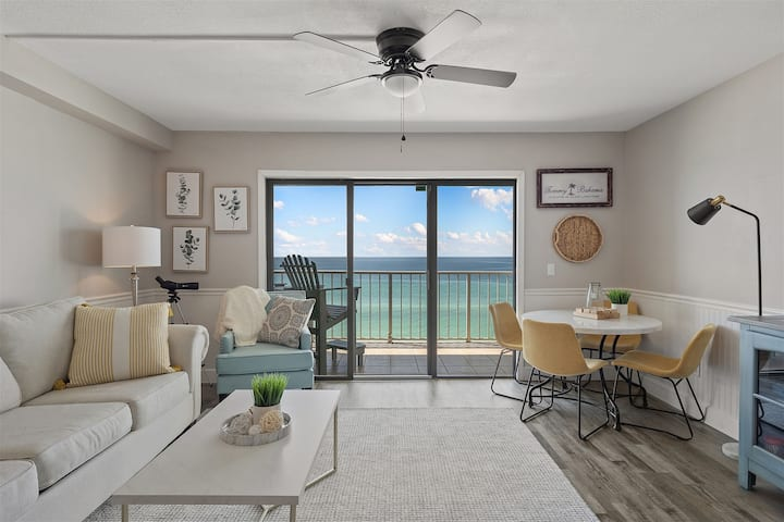 The Summit 919 - Ocean Front Beach Retreat With Shared Pools, Hot Tub, & Easy Beach Access!