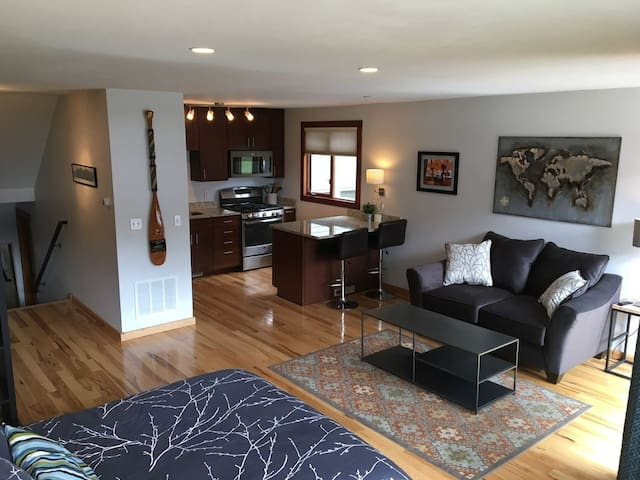 In-town Spacious Studio, Newly Renovated