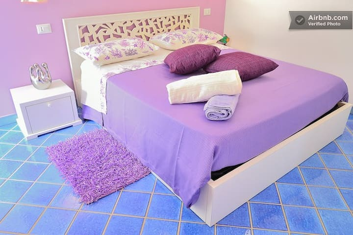 IPPOCAMPO CAMERA giardino - Zambrone - Bed & Breakfast