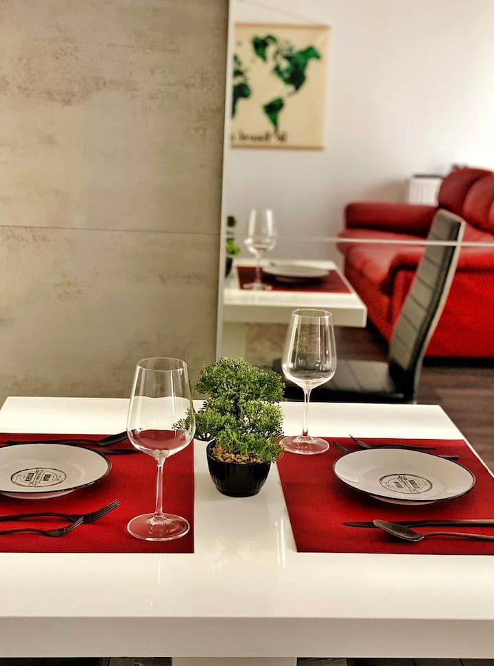 Vivalia Grand apartment with a green terrace