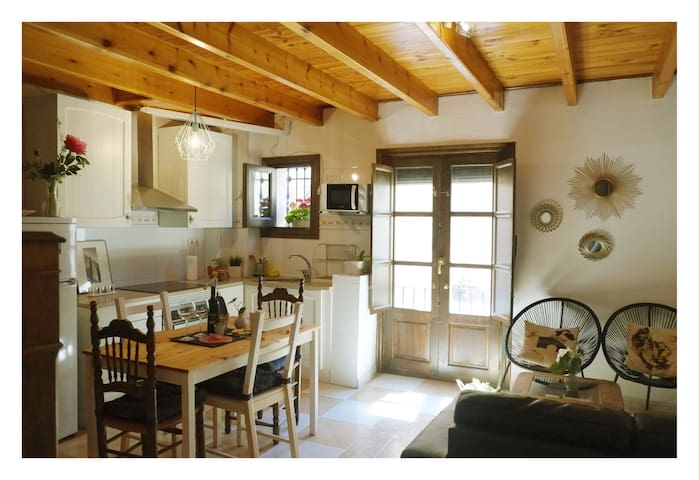 Preciosa casa en el Albaicín bajo. - Grenada - Dům