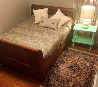 Sleigh bed and desk near SIUC law - Carbondale