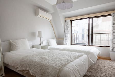 3Beds+2Bedrooms | Kabukicho Shinjuku | FREE WiFi - Shinjuku-ku - Apartamento