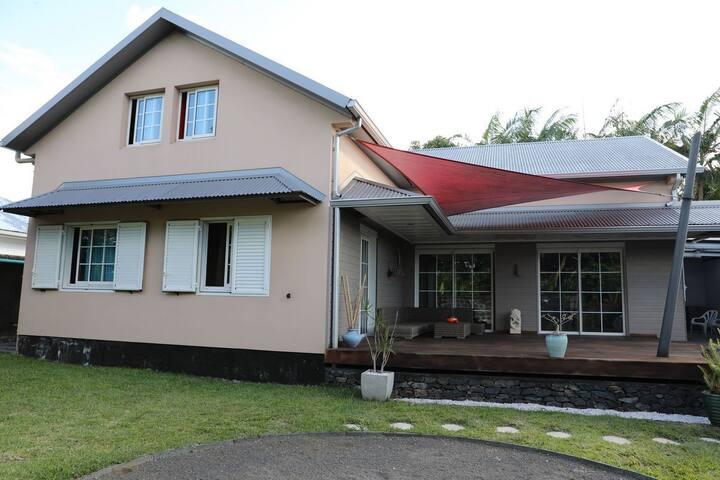 Villa à St-André pour découvrir l'Est et le Sud
