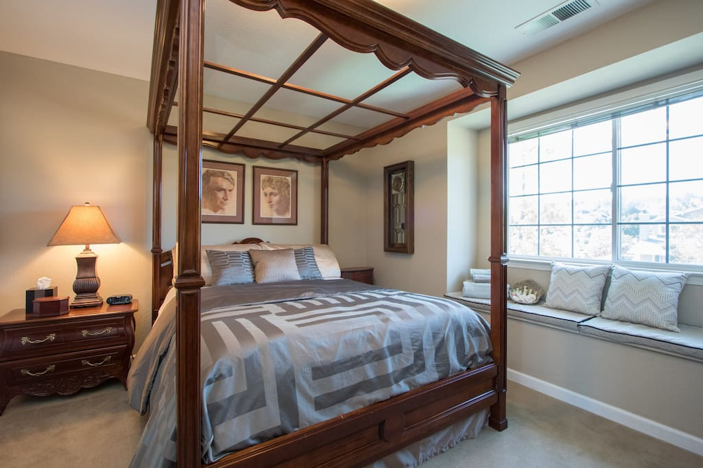"Check out our listing for our home's second guest room under our separate listing ""Beautiful Executive Home"" Both rooms can be  reserved by booking through the separate listings."