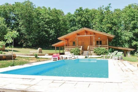 Romantic chalet near Rome and lake - Manziana - 小木屋