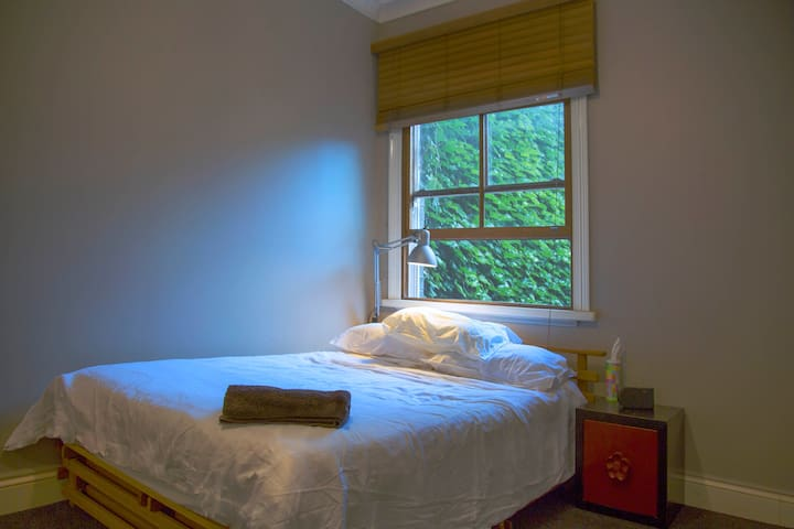 Quiet room with courtyard view