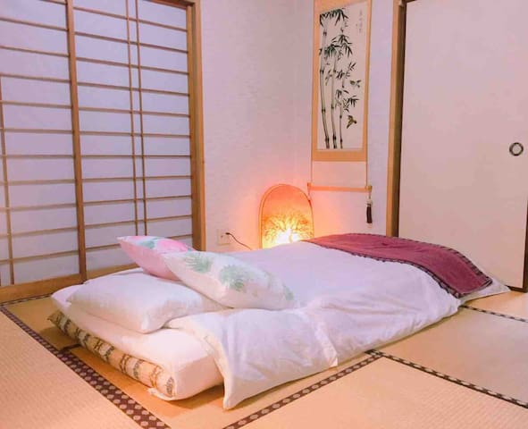 1F 和室 easy access to Ikebukuro!Japanese home stay