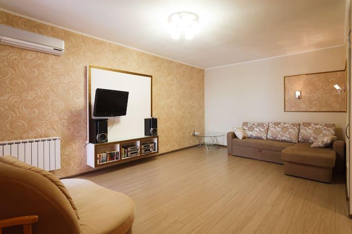 VLstay апартаменты с видом на Амур - Khabarovsk - Leilighet