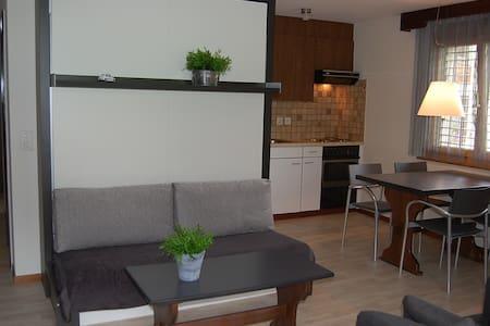 Luxe app 2-4p, in Wallis, op 1200m - Unterbäch - 公寓
