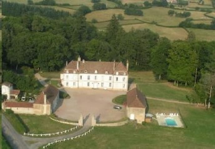 Castle wing in 11ha park - Brion - Schloss