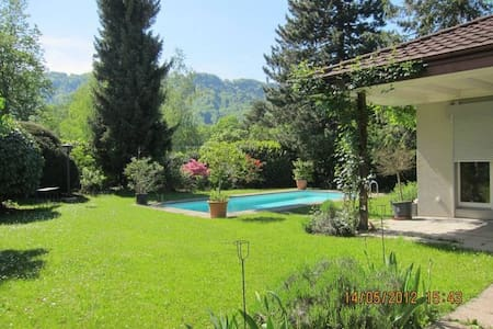 You will love it! Villa with Pool,Chimney,Garden.. - Adliswil - 一軒家