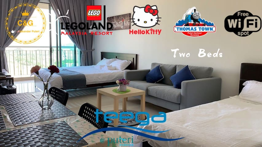 Teega Suites@Puteri Harbour@Kitty&Thomas@Near Logo