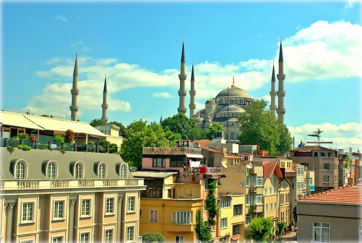 * Walk 2 Blue Mosque & Hagia Sophia