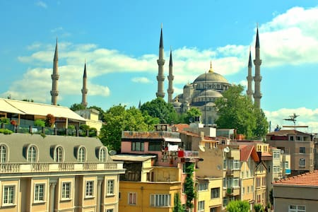 Walk 2 Blue Mosque & Hagia Sophia ## - Fatih