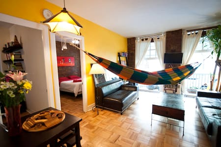 2 BDRM+HAMMOCK!Walk to Central Park - New York - Apartment