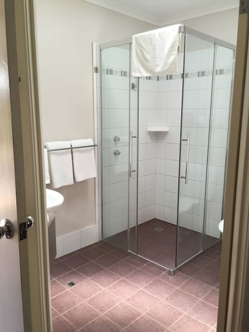 Private Bathroom with Shower & Toilet