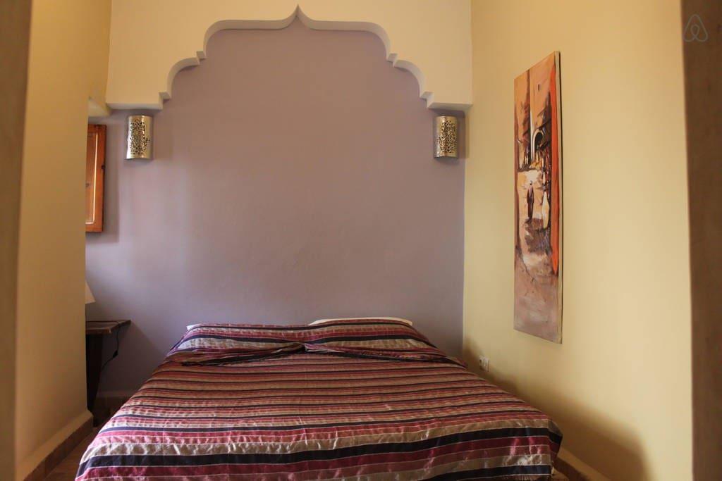 Chambre priv e au riad amra chambres d 39 h tes louer for Chambre d hote marrakech