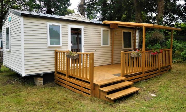 Mobil-home résidentiel (3 chambres), à Carnac !