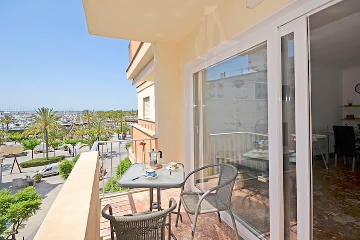Céntrico apartamento en Puerto de Alcúdia - Alcúdia - Apartamento