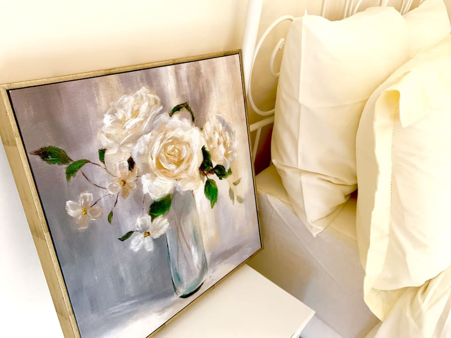Lovely bedside painting
