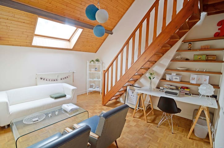 Private duplex room in city center - Antwerpen - Huoneisto