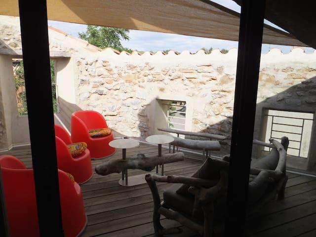 Le Gecko Village House - Cascastel-des-Corbières
