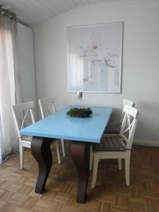 Essbereich, dining table, tavolo da pranzo