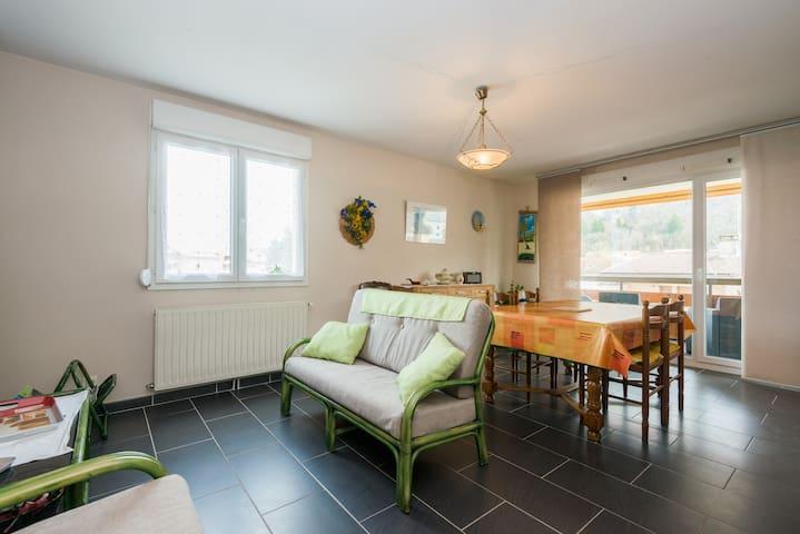 Joli appartement à 15mn d annecy - La Balme-de-Sillingy - Apartment