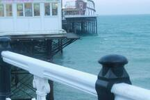 Brighton pier fun to stroll along