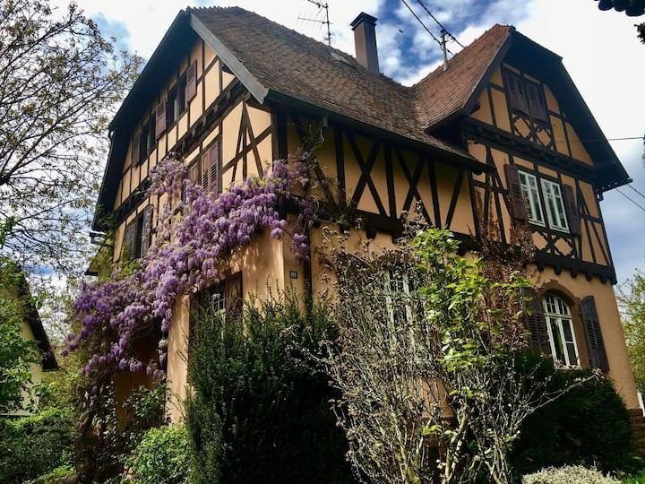 Studio rénové dans maison de charme alsacienne