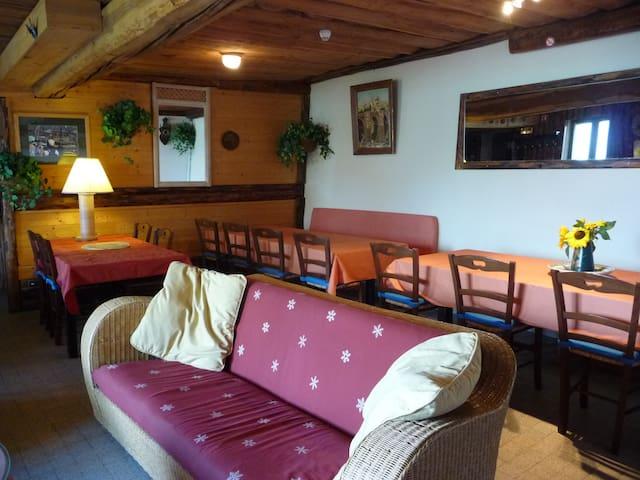 Grand chalet pour reunion de famill - Mâcot-la-Plagne - House
