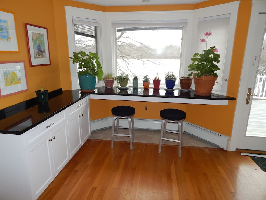 Breakfast bar - enjoy the view while you enjoy your breakfast