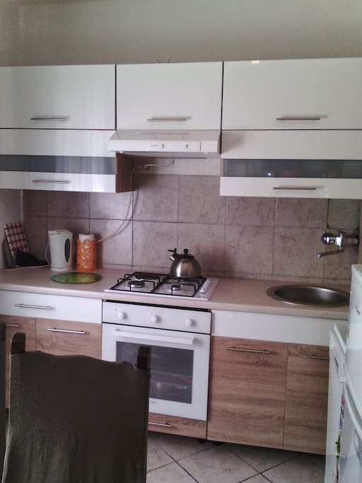 Apartment A1-Fully equipped kitchen with dishwasher