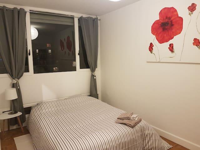 Chambre cosy au calme - Saint-Cyr-l'École - Appartement