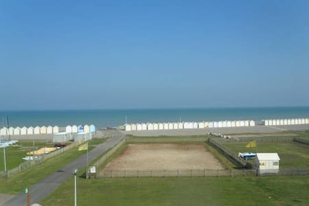 Chambres vue mer : 4pers (2ch/2sdb) - Cayeux-sur-Mer