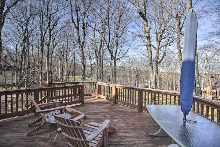 NEW! Upscale Wintergreen Home w/ Golf Course View!