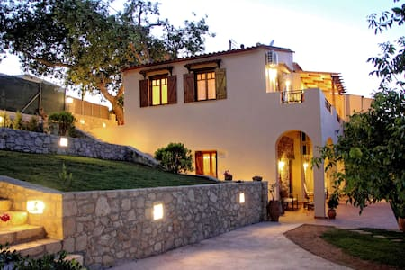 Alia Traditional Stone Villa - Chania