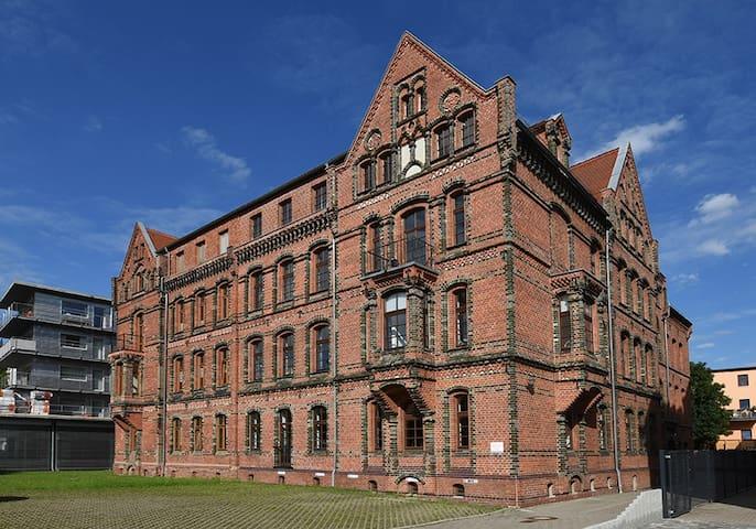 6,5 luxury room apartment- central Zwickau