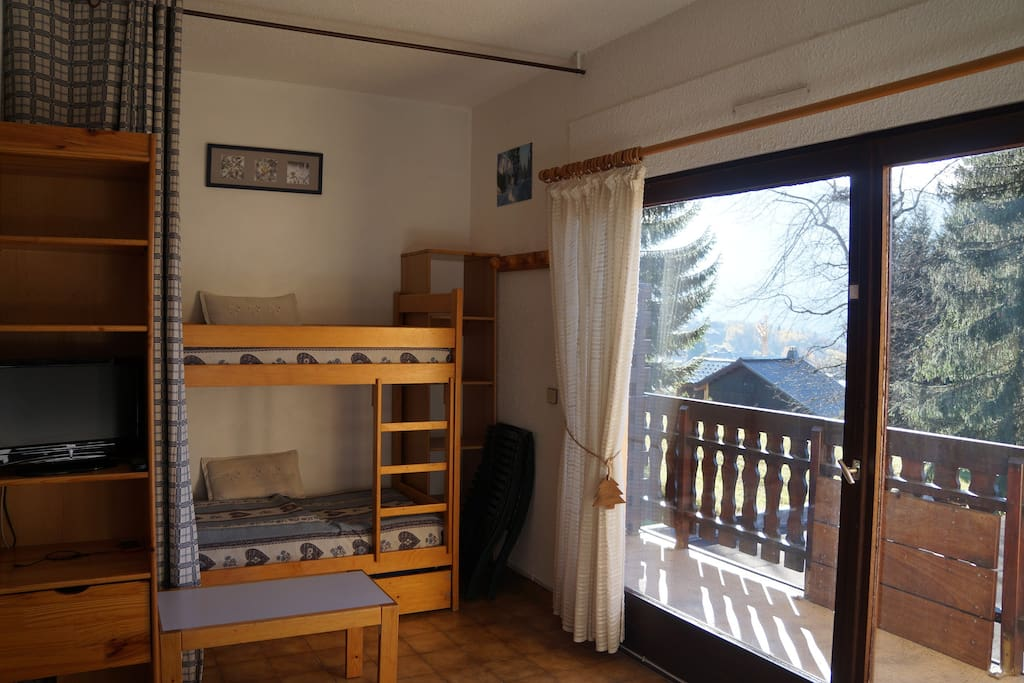 Coin nuit / Bunk bed area