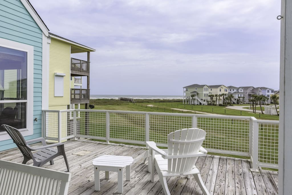 Main Balcony with Gulf View