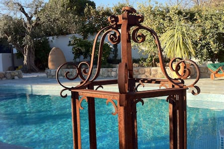 Andalusian paradise with pool, garden and oranges! - Melegís