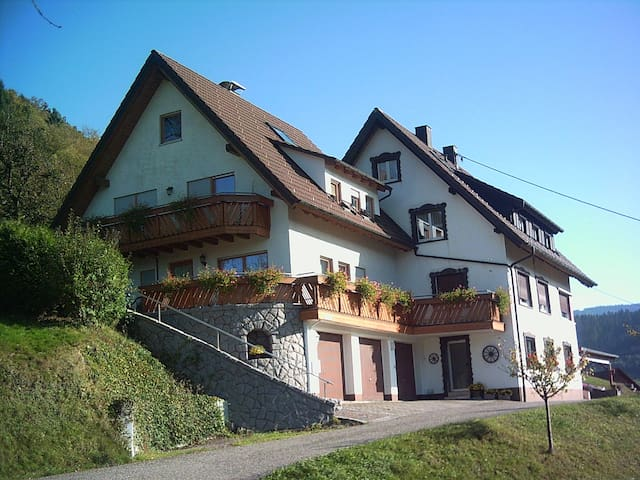 Cozy apartment in the black forest - Ottenhöfen im Schwarzwald - Lejlighed