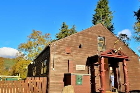 Scottish cabin-style cottage