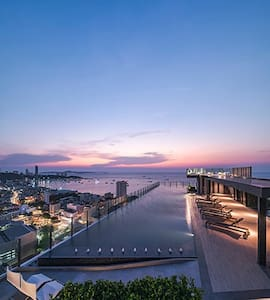 Nice location.Fantastic rooftop pool.New built. :D - Pattaya City - (ไม่ทราบ)