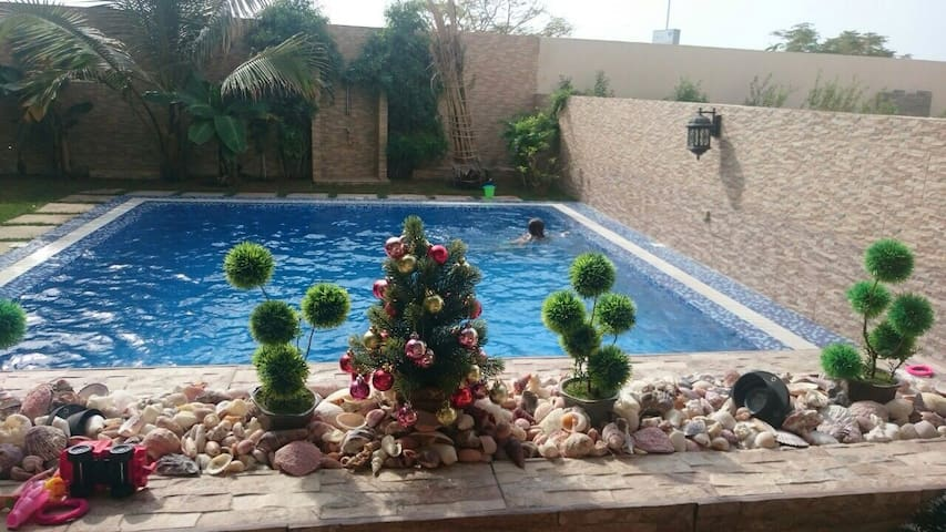 Villa 4 bedroom,Ras Al Khaimah,pool - Ras Al-Jaima - Casa