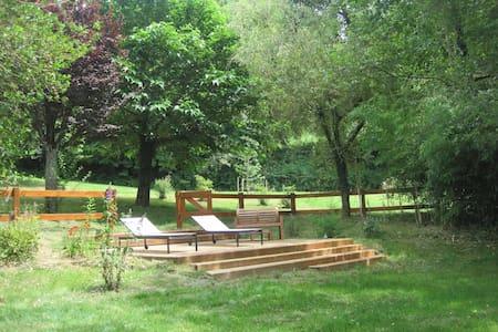 Ancienne ferme du XIXe réaménagée - Saint-Jean-Lagineste - Dům