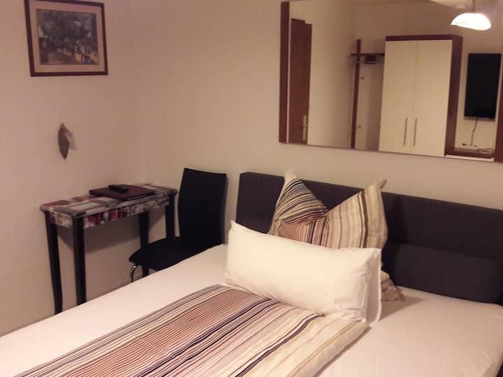 Einzelzimmer-Standard-Ensuite Dusche-Balkon-mit Bergblick