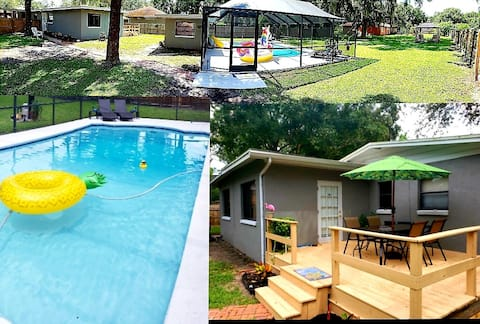 NEW Tropical Oasis w/Pool in Perfect Location