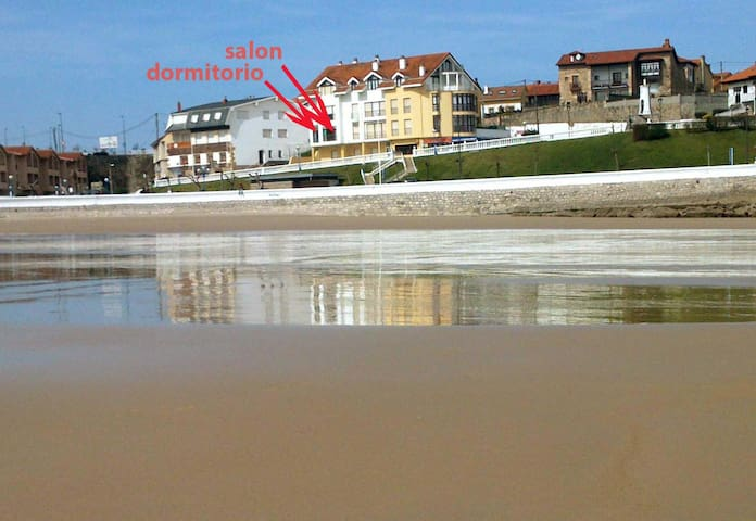 Apartamento con terraza en la playa - Comillas - Apartamento